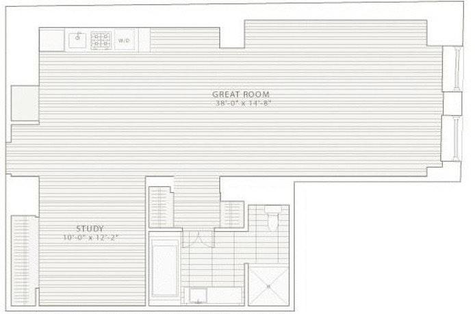 20 Pine Street 601, Financial District, NYC, $5,500, Web #: 17690341