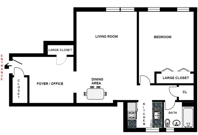 85 -10 34th Ave 510, Jackson Heights, New York, $380,000, Web #: 17754459