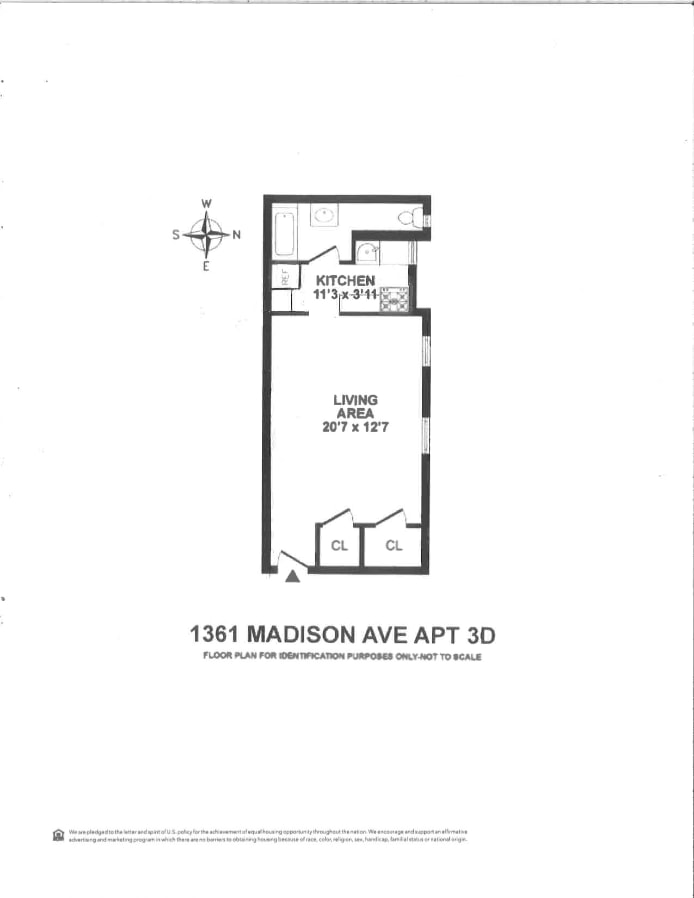 1361 Madison Avenue 3D, Upper East Side, NYC, $325,000, Web #: 17761014