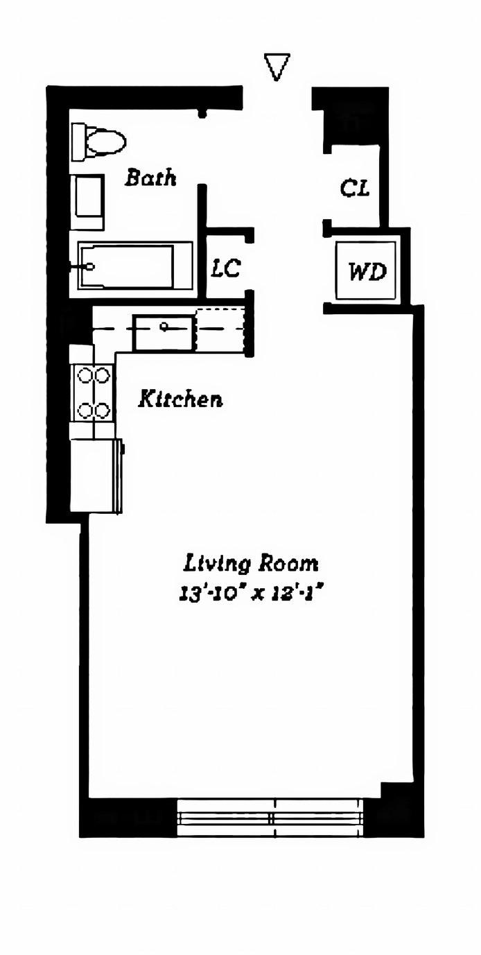 2280 Frederick Douglass B 3G, Harlem, NYC, $549,000, Web #: 17778694