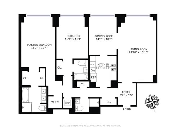 308 East 72nd Street 3D, Upper East Side, NYC, $2,495,000, Web #: 17823252