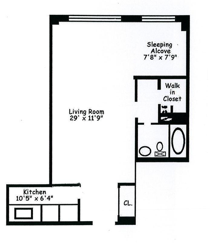 235 East 87th Street 10E, Upper East Side, NYC, $359,999, Web #: 17825021