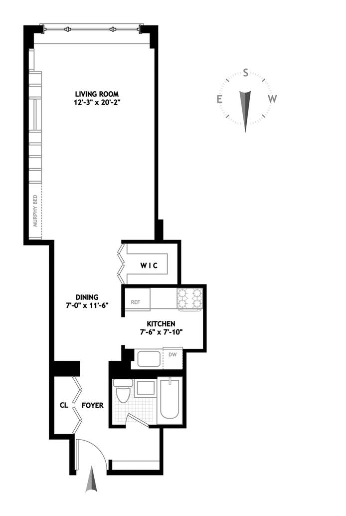 130 East 18th Street 9M, Gramercy Park, NYC, $699,000, Web #: 17830579