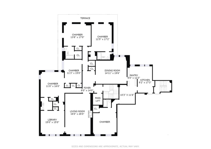 320 East 72nd Street 12A, Upper East Side, NYC, $3,600,000, Web #: 17882032