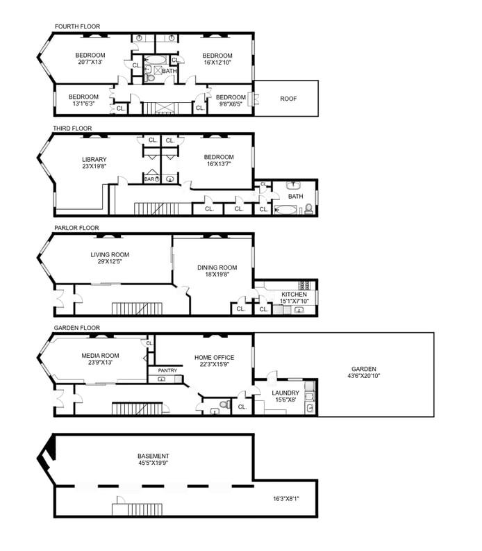 199 Berkeley Place, Park Slope, New York, $3,895,000, Web #: 17893665