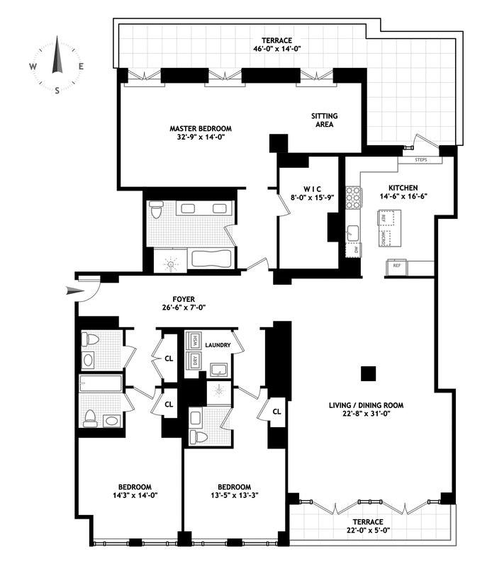 160 West 12th Street 74, Greenwich Village/Chelsea, NYC, $30,000, Web #: 17929824