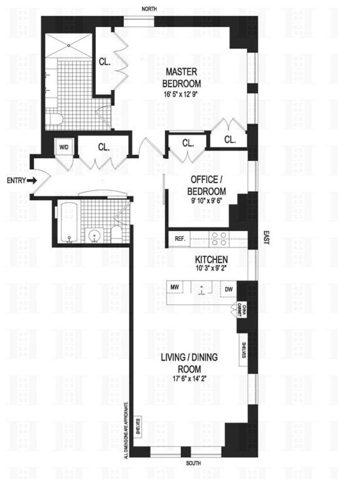 85 Adams Street 12D, Brooklyn, New York, $5,000, Web #: 17936256