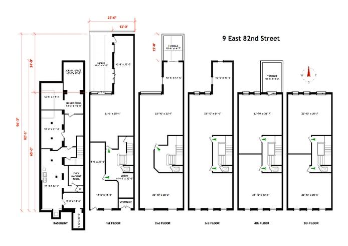 Park Block East 82nd Street, Upper East Side, NYC, $12,500,000, Web #: 17953583