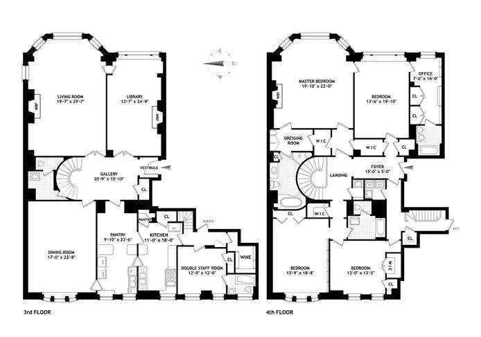 1 Beekman Place 3 4C, Midtown East, NYC, $8,995,000, Web #: 17976001