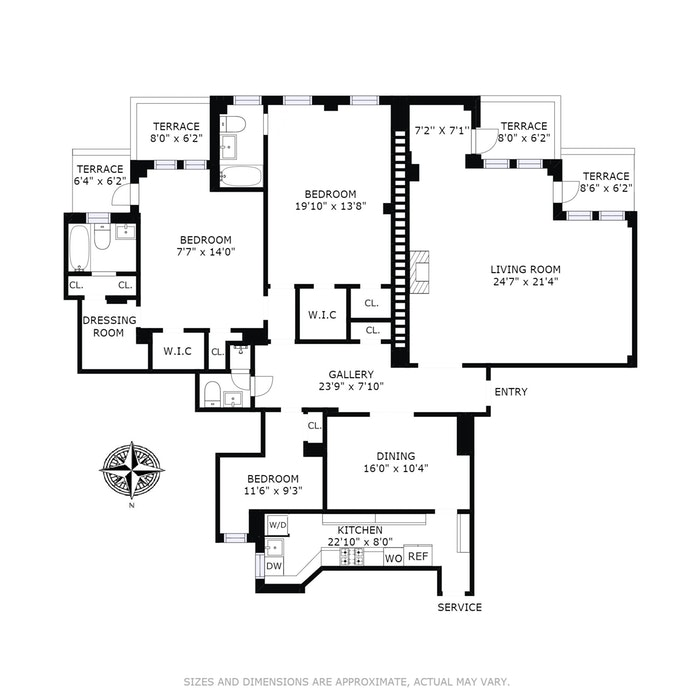 1120 Park Avenue 18B, Upper East Side, NYC, $3,300,000, Web #: 17984368