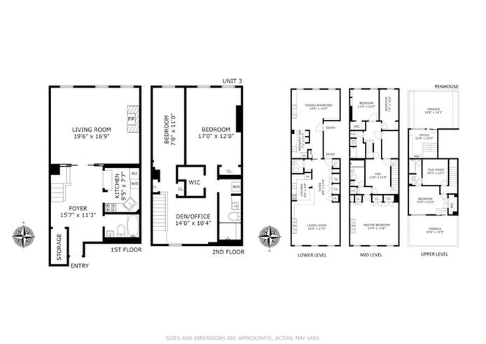 213 East 71st Street 3/Ph, Upper East Side, NYC, $5,970,000, Web #: 18058491