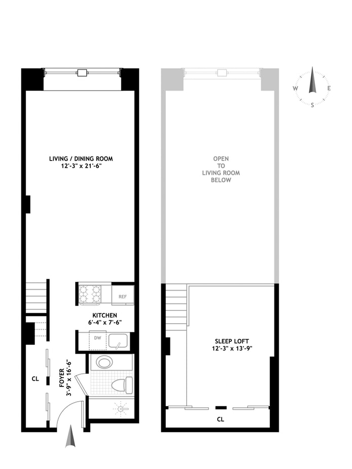 155 West 15th Street 2D, Chelsea, NYC, $799,000, Web #: 18077467