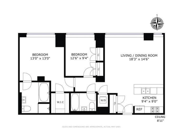 1485 Fifth Avenue 10B, Harlem, NYC, $1,350,000, Web #: 18087031