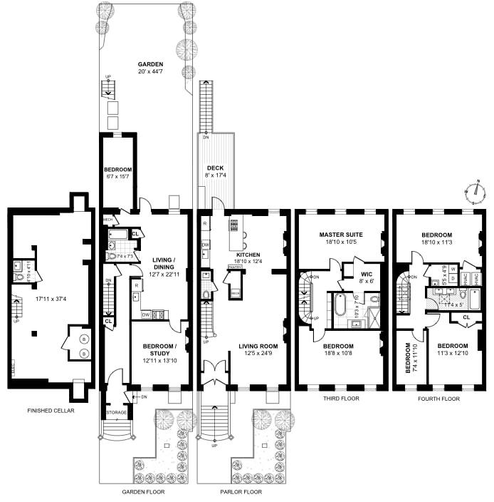 185 Mac Donough Street, Bedford Stuyvesant, New York, $3,380,000, Web #: 18114800