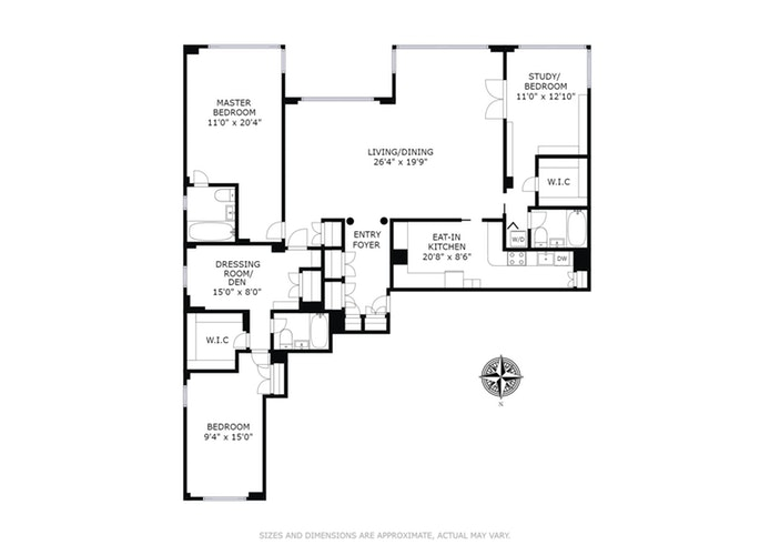 233 East 69th Street 10Bc, Upper East Side, NYC, $1,895,000, Web #: 18170596