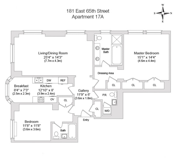181 East 65th Street 17A, Upper East Side, NYC, $14,000, Web #: 18170813