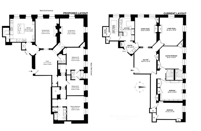 390 West End Avenue 11H, Upper West Side, NYC, $5,350,000, Web #: 18173881