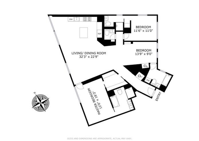 100 Eleventh Avenue 10A, Greenwich Village/Chelsea, NYC, $13,000, Web #: 18180767