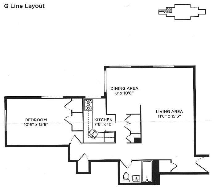 345 Clinton Avenue 11G, Clinton Hill, New York, $679,000, Web #: 18191596