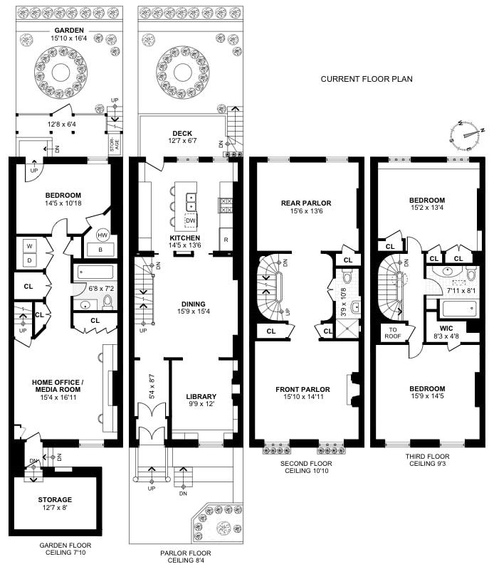 58 Tompkins Place, Cobble Hill, New York, $4,350,000, Web #: 18191704