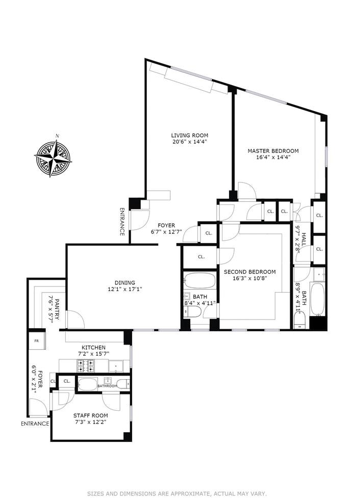 370 Riverside Drive 15A, Upper West Side, NYC, $2,175,000, Web #: 18201780