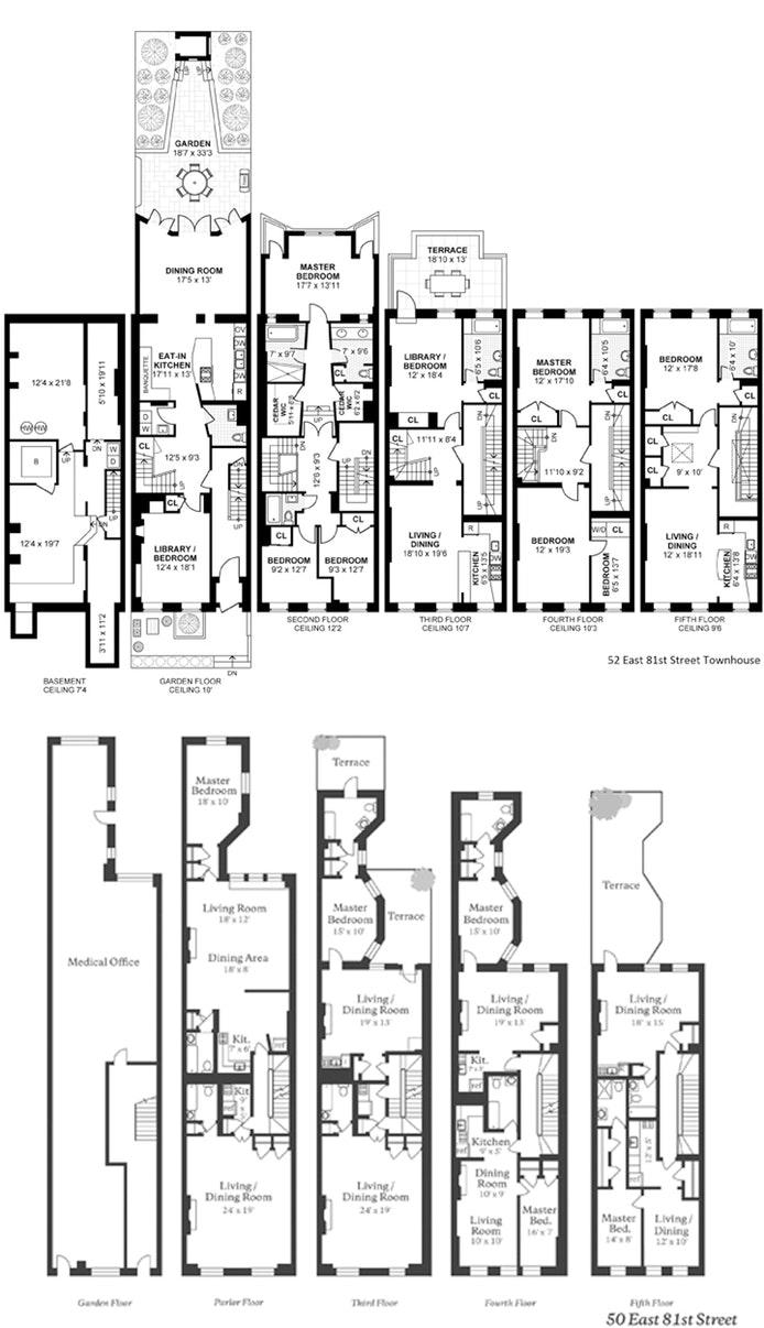 50 -52 East 81st Street, Upper East Side, NYC, $22,450,000, Web #: 18202164
