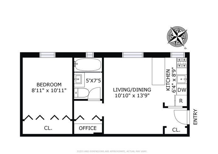 59 Pineapple Street 2L, Brooklyn Heights, New York, $579,000, Web #: 18220730
