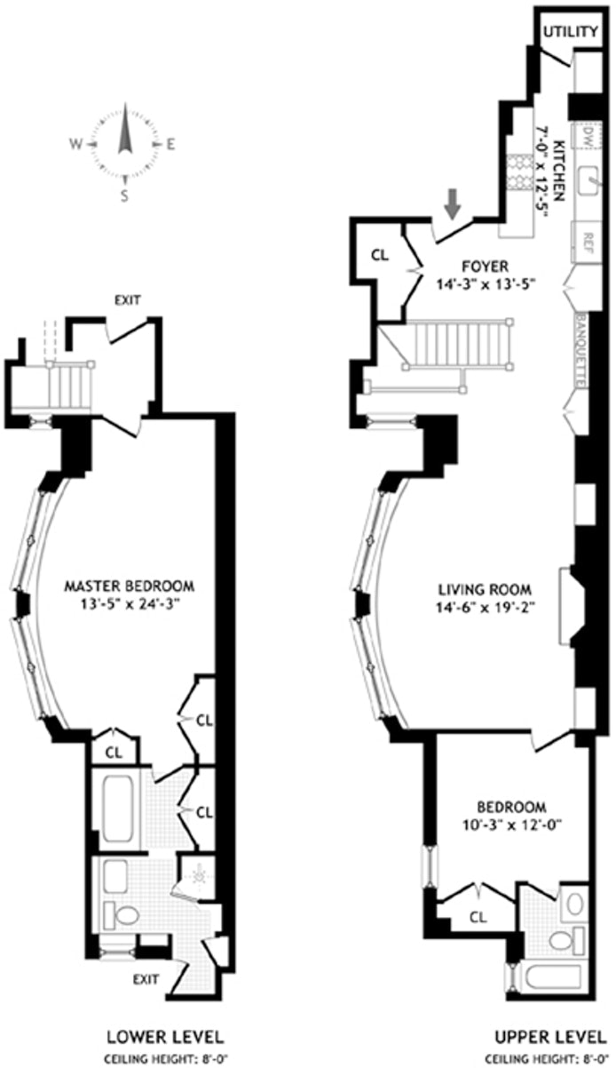 40 East 74th Street 1, Upper East Side, NYC, $7,995, Web #: 18223087