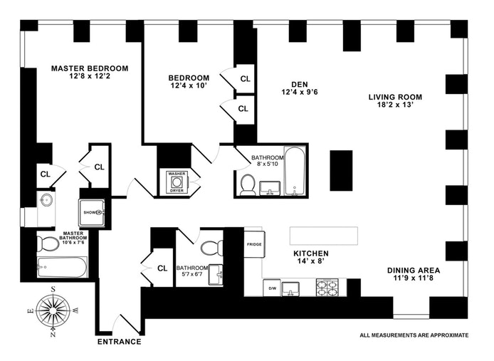 11 East 29th Street 29A, Nomad, NYC, $2,850,000, Web #: 18235504