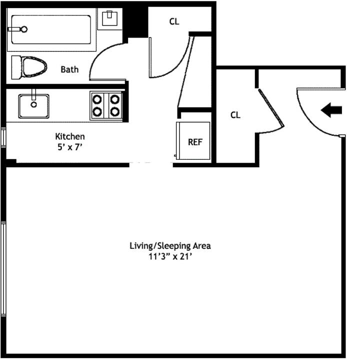 100 Remsen Street 8E, Brooklyn Heights, New York, $270,000, Web #: 18259546