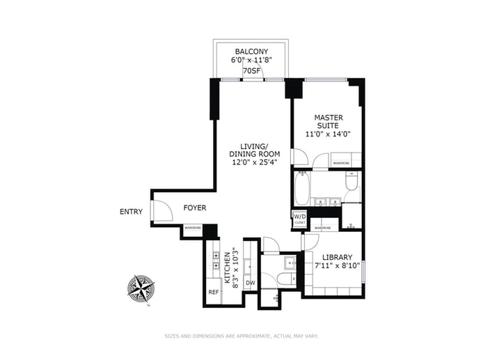 302 East 96th Street 1102, Upper East Side, NYC, $1,655,000, Web #: 18261184