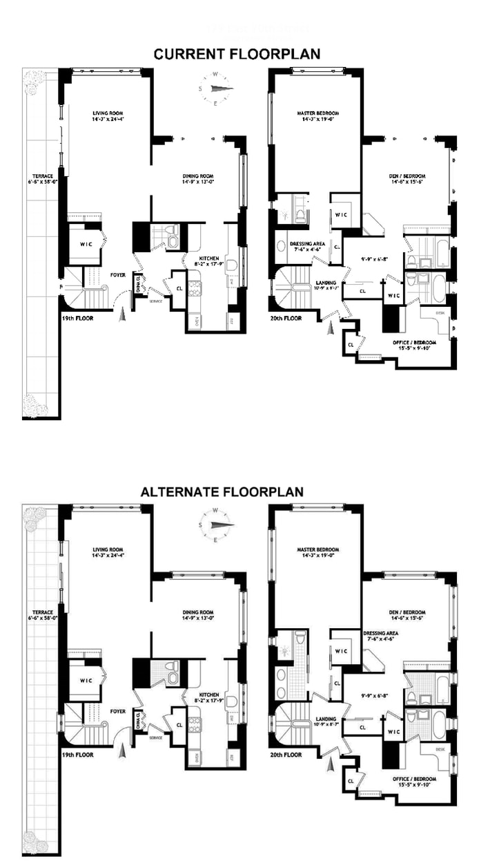 179 East 70th Street 19/20A, Upper East Side, NYC, $2,800,000, Web #: 18272371
