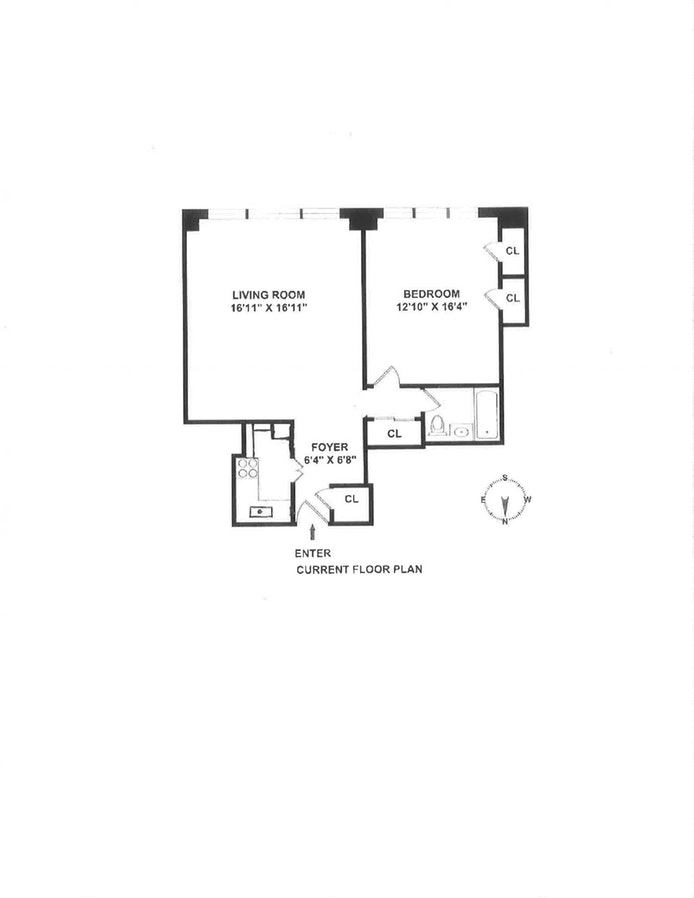 110 East 57th Street 14H, Midtown East, NYC, $620,000, Web #: 18295046