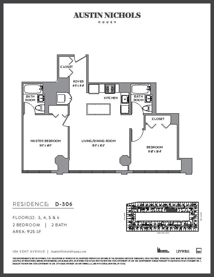 184 Kent Avenue D506, Williamsburg N Side, New York, $4,495, Web #: 18302499