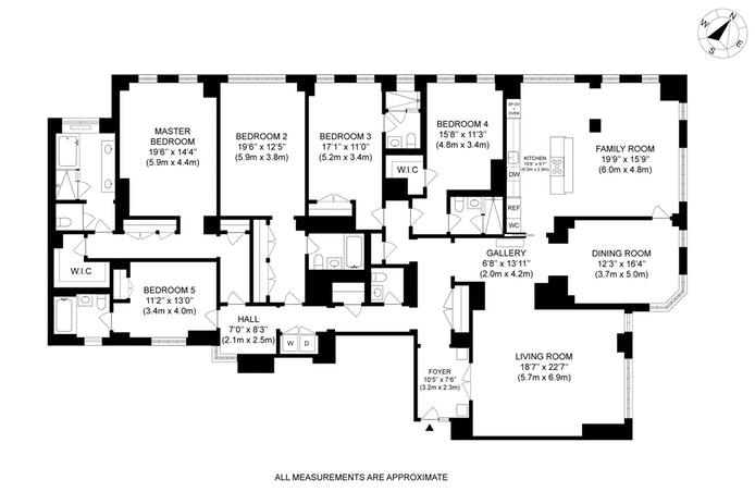 21 East 61st Street 6E, Upper East Side, NYC, $12,750,000, Web #: 18312501