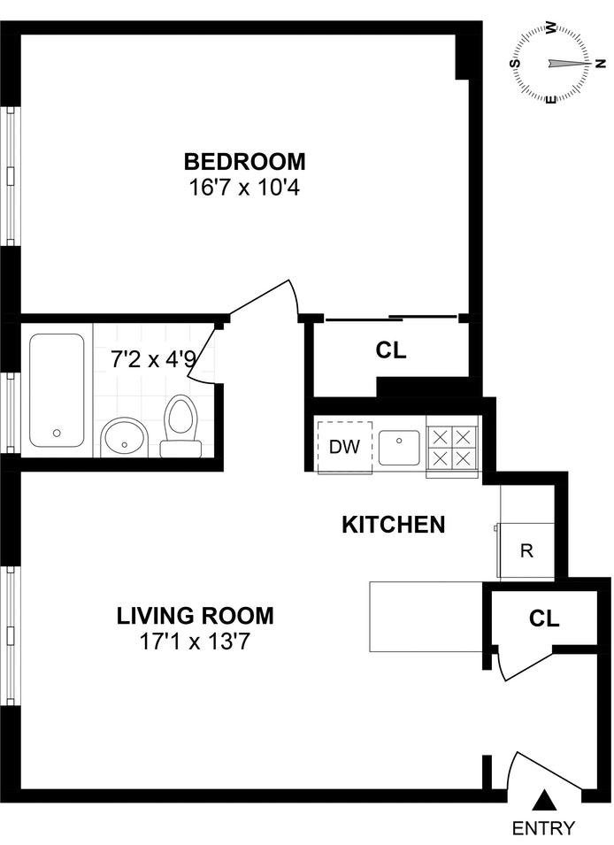 43  42 45th Street 2N, Sunnyside, New York, $299,000, Web #: 18338188