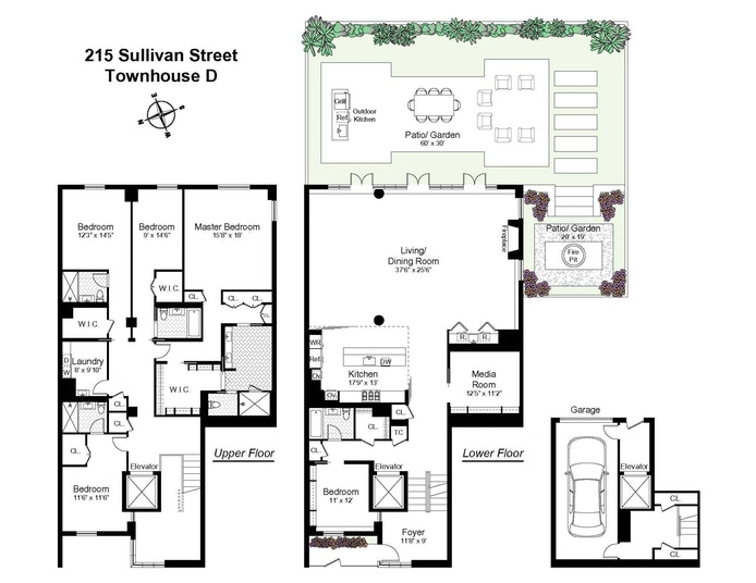 215 Sullivan Street Thd, Greenwich Village/NOHO/Little Italy, NYC, $13,250,000, Web #: 18354122
