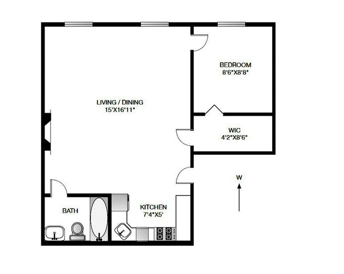 21 South Portland Ave 3F, Fort Greene, New York, $730,000, Web #: 18360474