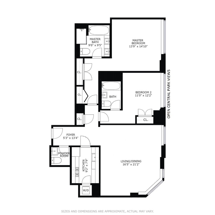 455 Central Park West 19B, Upper West Side, NYC, $2,000,000, Web #: 18427633