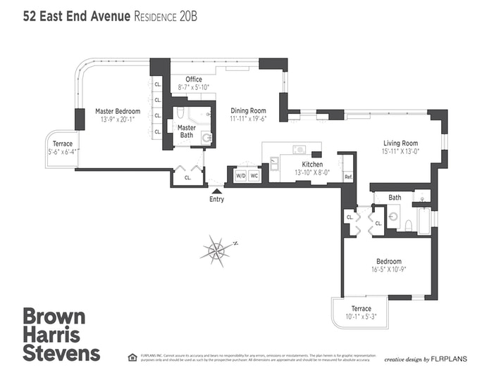 52 East End Avenue 20B, Upper East Side, NYC, $2,370,000, Web #: 18432286