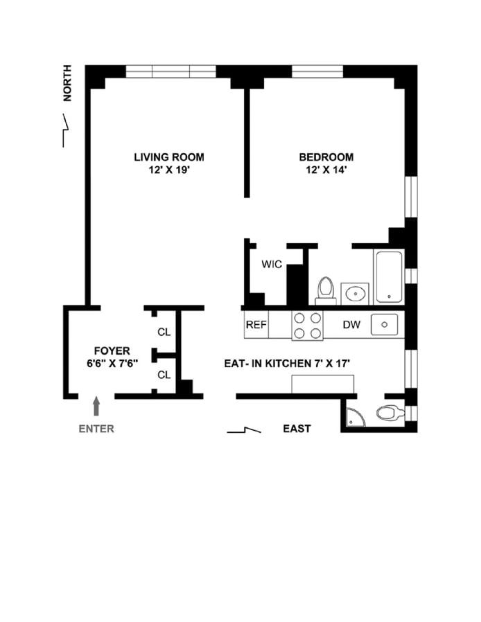 221 West 82nd Street, Upper West Side, NYC, $825,000, Web #: 18432816