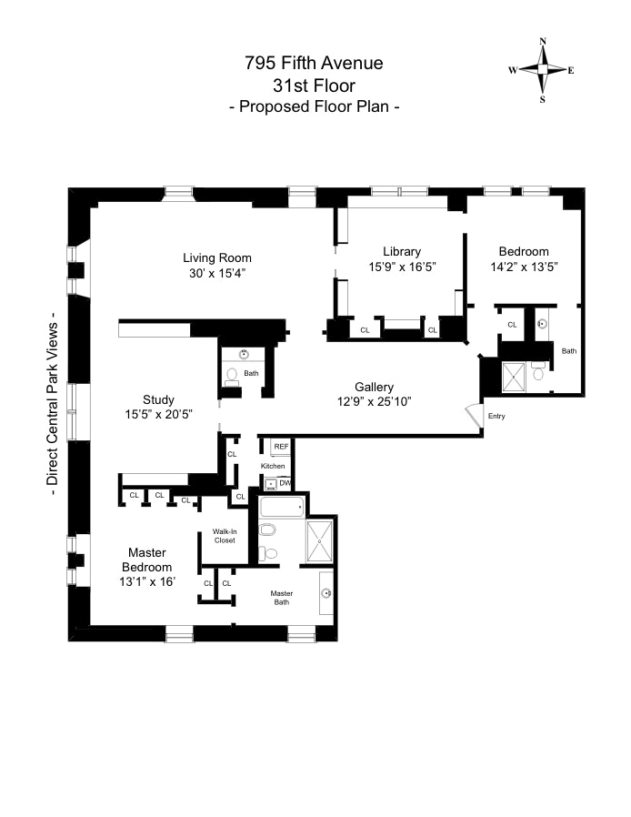 795 Fifth Avenue 3101, Upper East Side, NYC, $23,000,000, Web #: 18438756