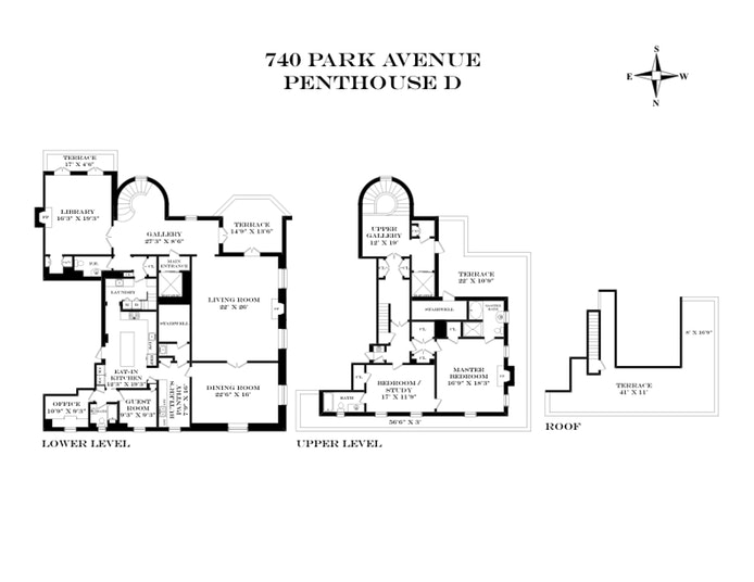 740 Park Avenue Ph17/18D, Upper East Side, NYC, $39,500,000, Web #: 18447826
