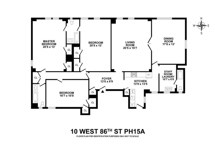 10 West 86th Street Ph15a, Upper West Side, NYC, $3,250,000, Web #: 18477699
