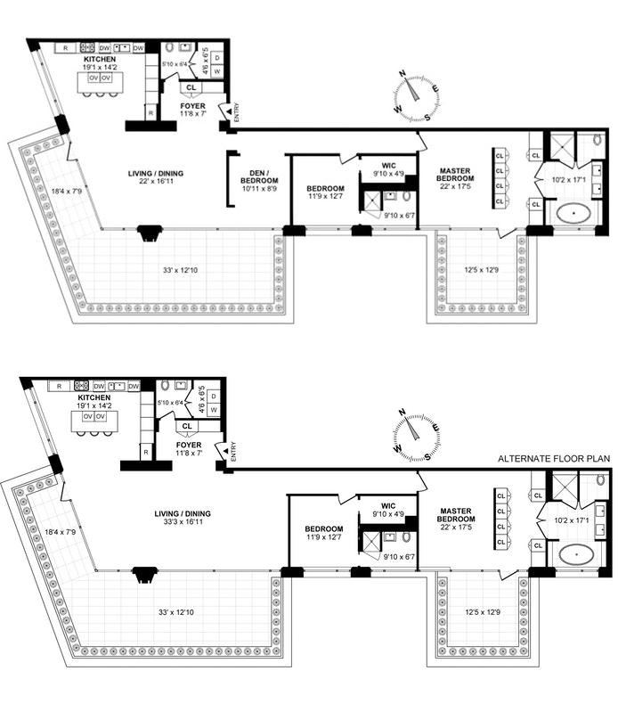 551 West 21st Street 5B, Chelsea, NYC, $5,475,000, Web #: 18491254