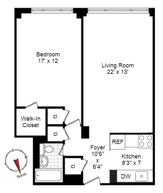 425 East 63rd Street W6f, Upper East Side, NYC, $3,200, Web #: 18518264