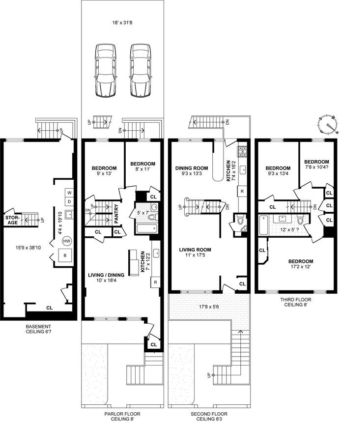 1328 East 87th Street, Brooklyn, New York, $751,000, Web #: 18521224