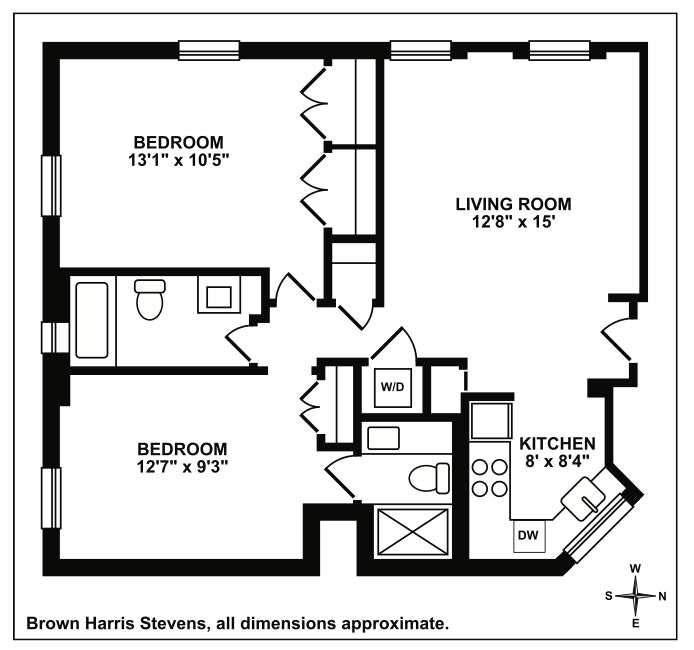 78 Bedford Street 3A, West Village, NYC, $7,600, Web #: 18521969