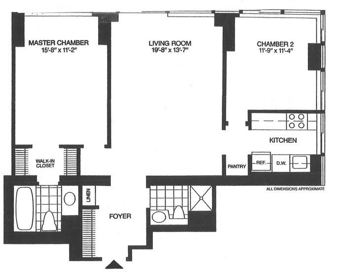 300 East 93rd Street 44B, Upper East Side, NYC, $5,000, Web #: 18525634