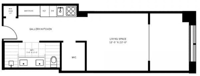 111 Fulton Street 820, Civic Center/Two Bridges, NYC, $3,075, Web #: 18528624